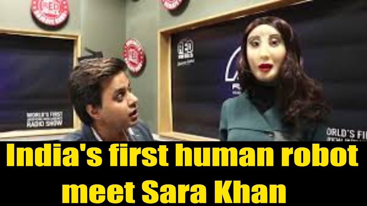 India's first human robot | Rashmi | Red FM | Meet With Sara || Arrive Entertainment