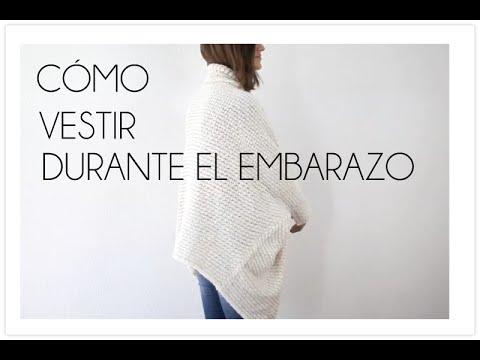 e5c322ac4 Ideas para vestirse y verse bien durante el embarazo - YouTube
