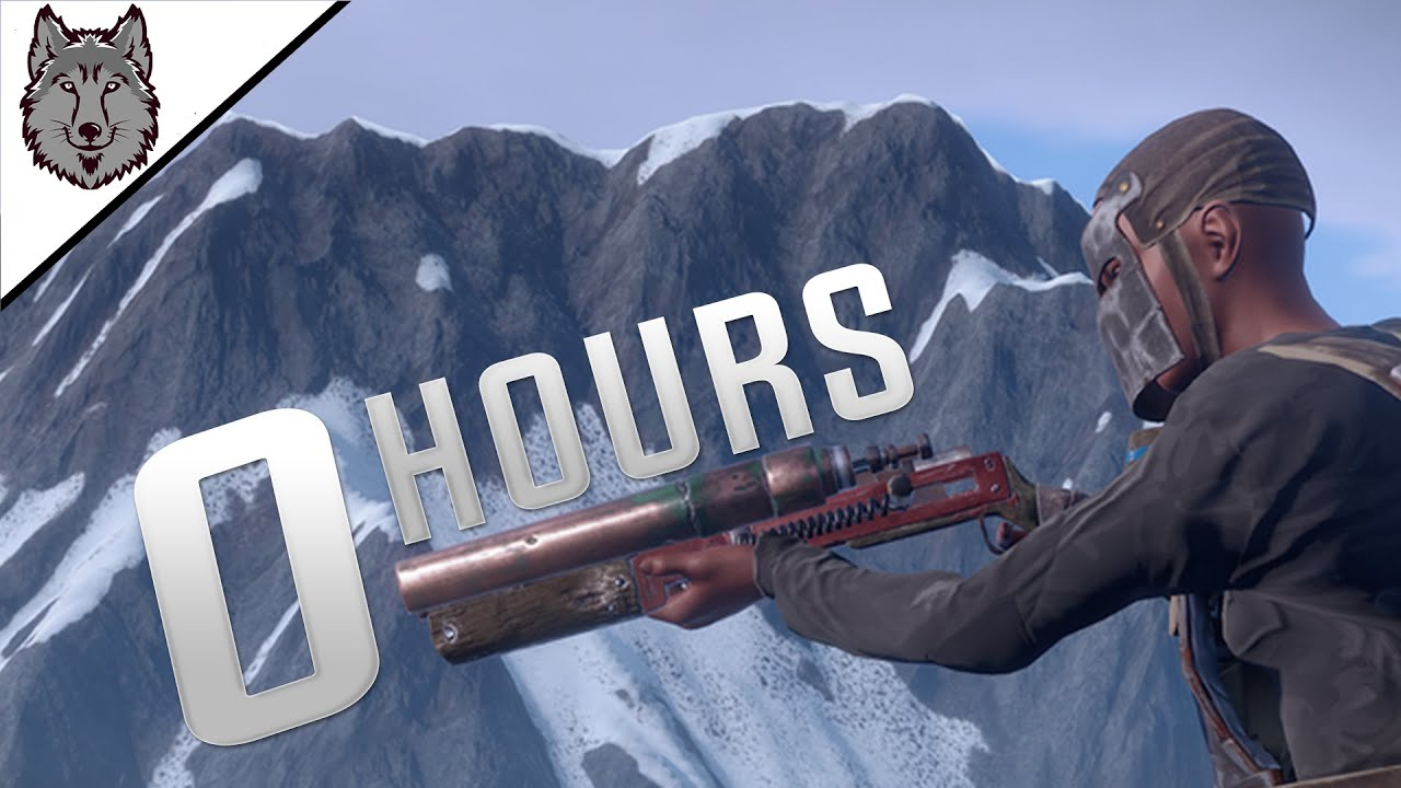 Starting On A CAPPED Server But With 0 Hours! - Rust