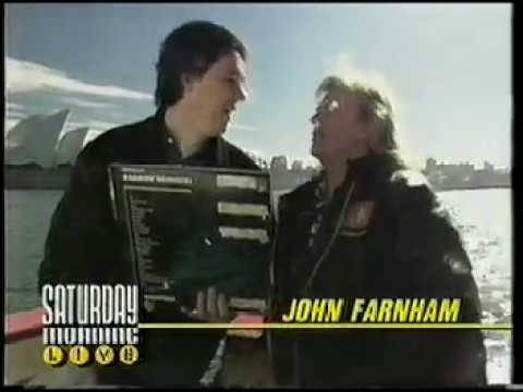 John Farnham Interview on Sydney Harbour (1989)