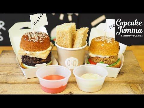 Get National Burger Day Cupcakes - Behind the Scenes   Cupcake Jemma Pics