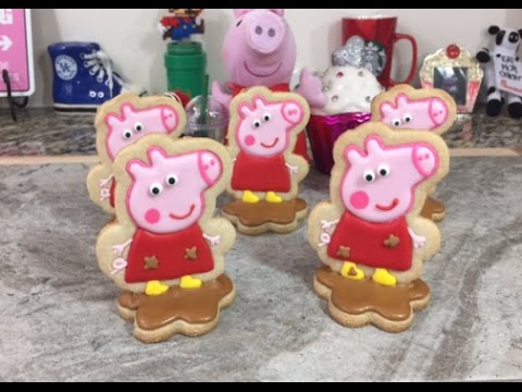 3d Peppa Pig In Mud Cookies How To Youtube