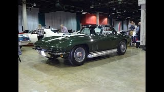 1967 Chevrolet Corvette Convertible & 427 / 435 HP Engine Sound on My Car Story with Lou Costabile