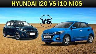 Hatchback Comparison: Hyundai I10 Nios Vs Hyundai i20