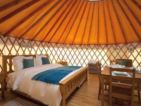 Yurt Holiday in Cornwall 2012