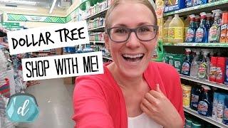 DOLLAR TREE SHOPPING VLOG!