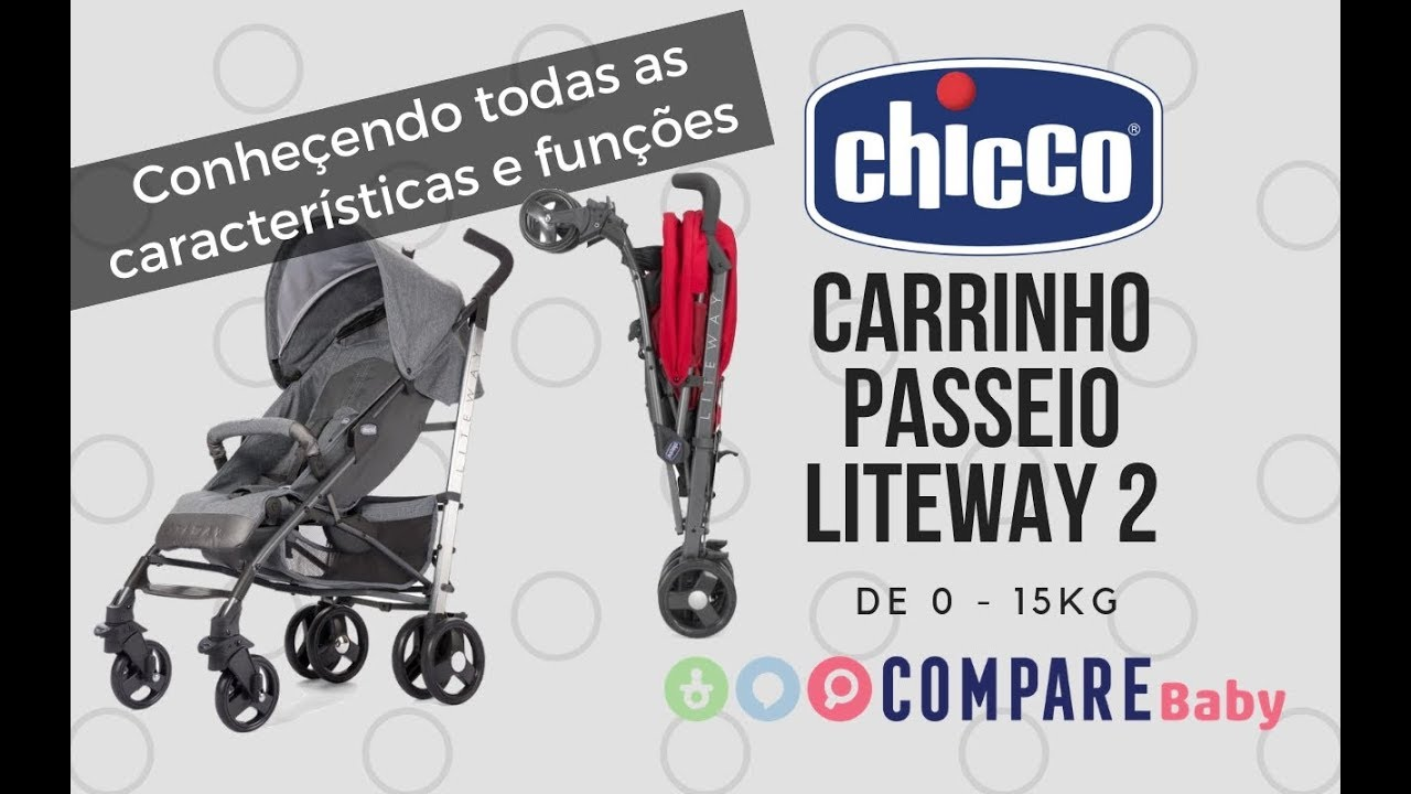 e50c8420b Carrinho LITEWAY Chicco - Conheça todo o funcionamento deste ...