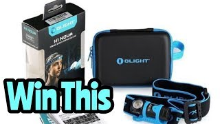 Olight H1 Nova Headlamp Competition!!!