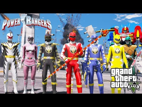 COMO IR PARA O MUNDO DO POWER RANGER NO GTA 5?? Incrível