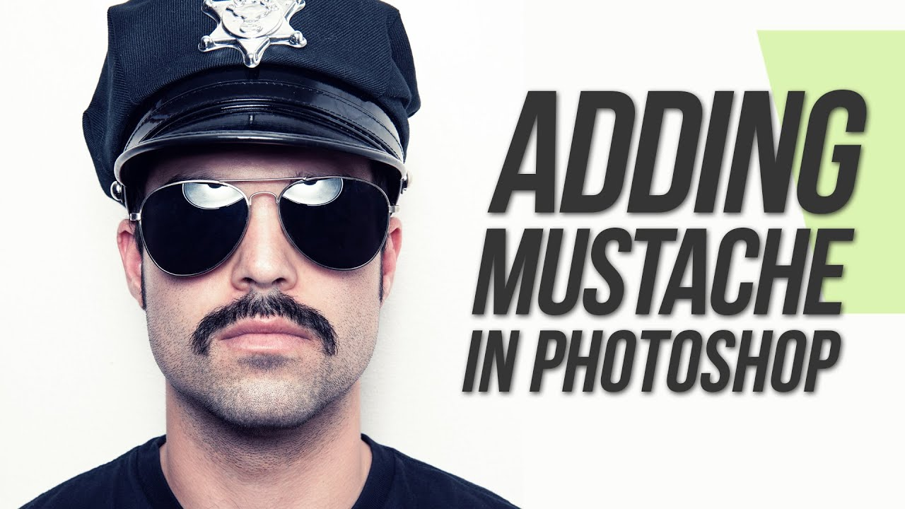 How To Create A Mustache In Photoshop - Photoshop Tutorial