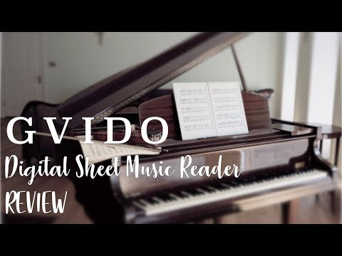 GVIDO Digital Sheet Music Reader Full Review