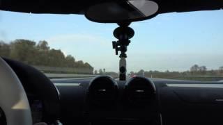 [4k] 202 mph / 324 km/h Autobahn SPRINT in Koenigsegg Agera R