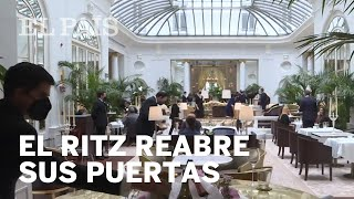 El Hotel Ritz abre sus puertas tras una extensa reforma
