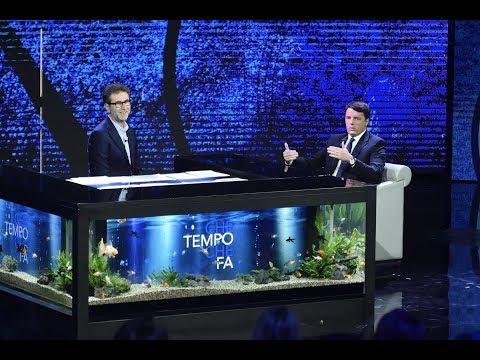 Matteo Renzi a Che Tempo Che Fa del 3 dicembre 2017