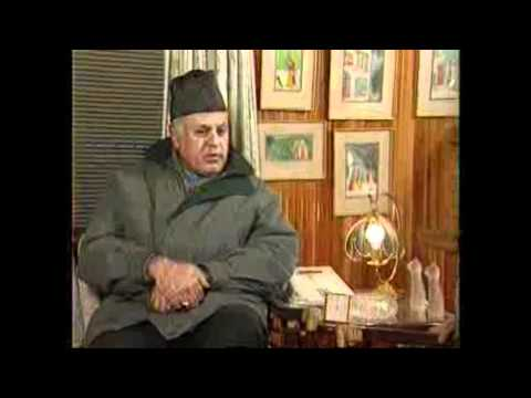 Farooq-Abdullah Interview by Tavleen Singh Part-2