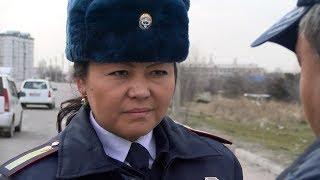 Красавица-сотрудница, которая 10 лет работает в рядах ГУОБДД