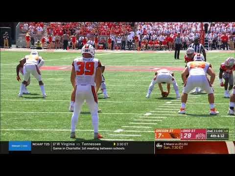 2018 - Oregon State Beavers vs Ohio State Buckeyes in 40 Minutes