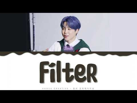 Jimin - &39;Filter&39;  Color Coded  HAN ROM ENG