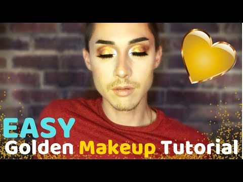 EASY Golden GO-TO MAKEUP Tutorial | TheOtherWalt thumbnail