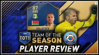FIFA 17 TOTS Kalachev (87) Player Review W/Gameplay & In-Game Stats