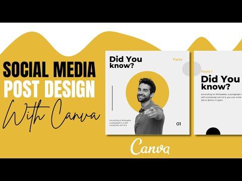   Social Media Banner Design  Instagram post design in canva   Tutorial   Designtalk   Part 3  