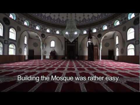 YUNUS EMRE CAMII - a big turkish mosque in GENK, Belgium