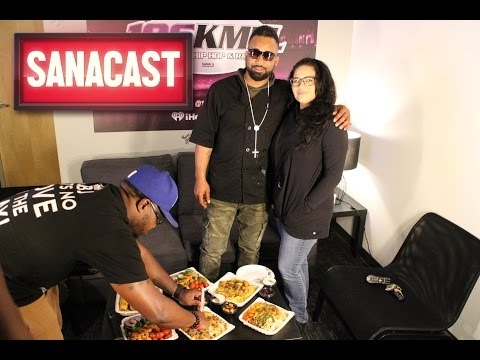 Sanacast: Oakland's Famous Chef Smelly Stops by the Sana G Morning Show!