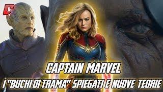 """Captain Marvel - I """"buchi di trama"""" spiegati e nuove teorie"""