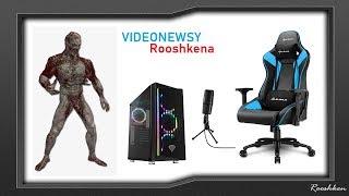 Videonewsy Rooshkena - połączenie pada i myszki, nowe gadżety, symulator komornika