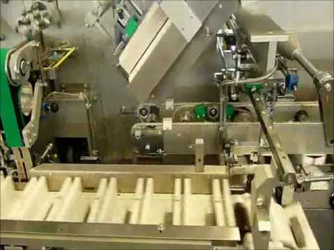 V2 ENGINEERING-CARTONING MACHINE-ITALY (GLASS BOTTLES + APPLICATOR)