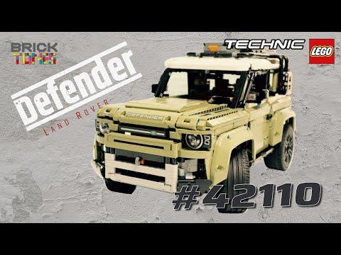 LEGO Land Rover Defender 42110 - Speedbuild & Review