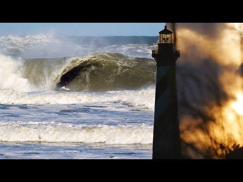 Cape Hatteras Pumped!  |  Winter Storm Skylar