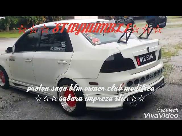 Saga blm owners club modified subaru impreza STI