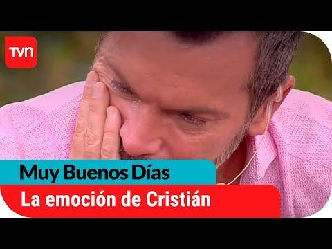Cristián se emociona ante inquietante acierto de Cristina Araya | Muy Buenos Días