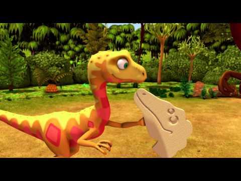 Derek the Deinonychus - Dinosaur Train - The Jim Henson Company