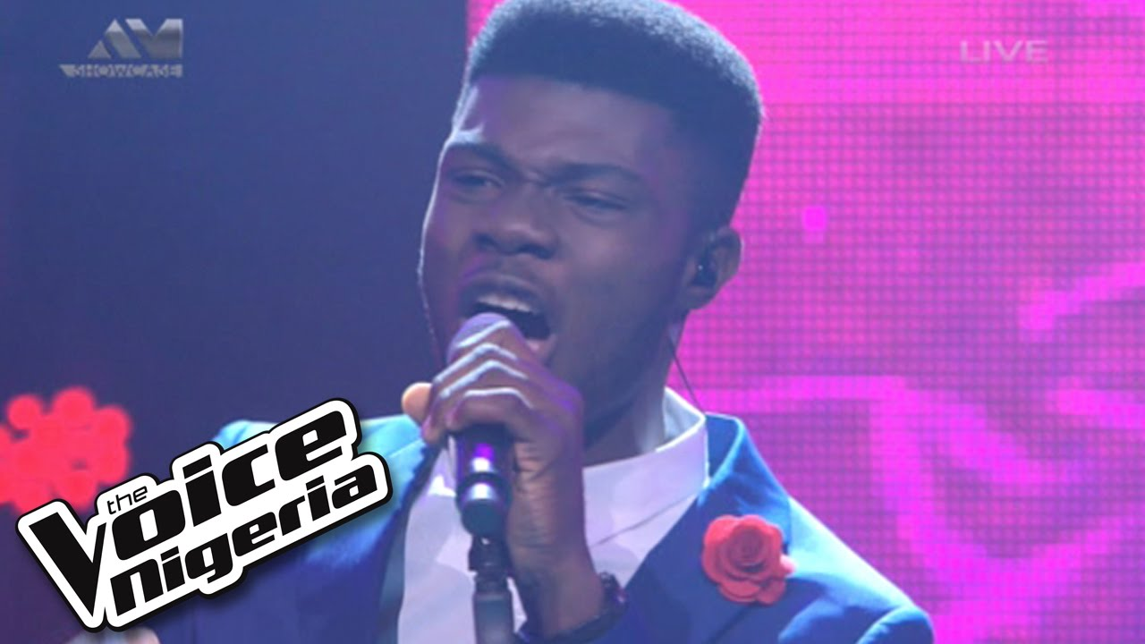 """Download David Operah sings """"It's Not That Easy"""" / Live Show / The Voice Nigeria 2016"""