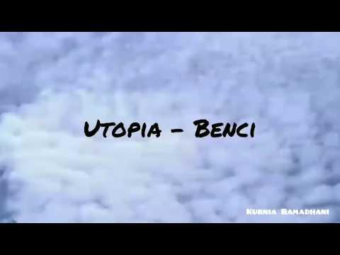 BENCI - UTOPIA | Lirik (Official Lyric Video) | Cover By Moosyitta.