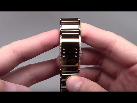 Rado Integral Jubile Women s Watch with Diamond Ref  R20783732 - YouTube 23ebb542e