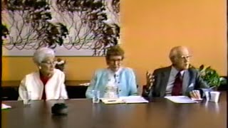 A Special Interview with Georgie Lee Abel, Josephine Taylor, and Berthold Lowenfeld, 1987