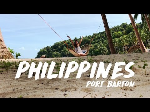 A BEACH FOR MYSELF!! Port Barton, The Philippines (Vlog #10)