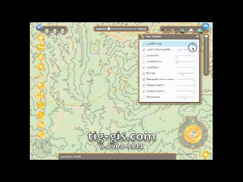 Sample of GIS Solution By Triple I Geographic Co., Ltd.