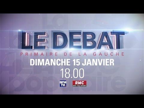 Live BFMTV - Edition Spéciale Débat de la primaire de la Gauche
