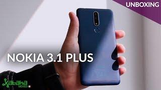 Nokia 3.1 Plus, UNBOXING: este es si PRECIO OFICIAL en México