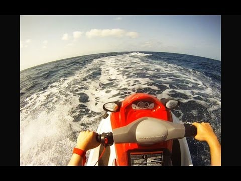 Jet Ski GoPro HD in Cape Verde