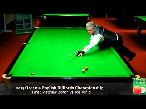 Final Session 2: Oceania English Billiards Championship 2015