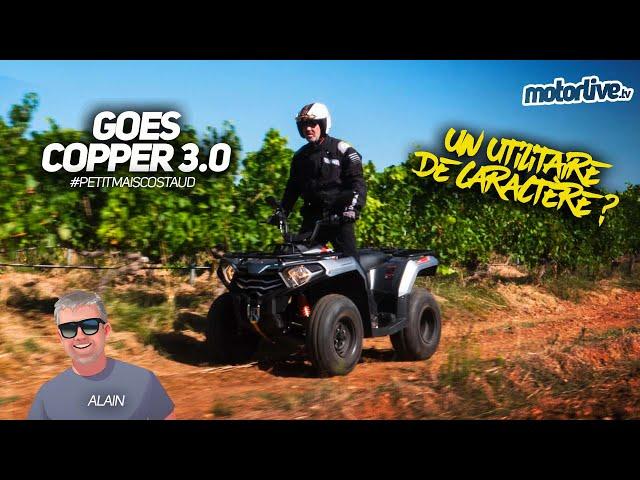 GOES COPPER 3.0   TEST MOTORLIVE