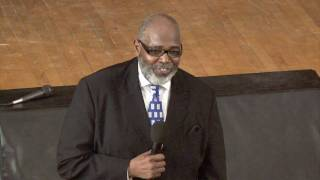"""Gould Academy - Martin Luther King Day - Reverend Thompson sings """"Amazing Grace"""""""