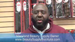 Baltimore City Black Owned Beauty Supply Store Owner