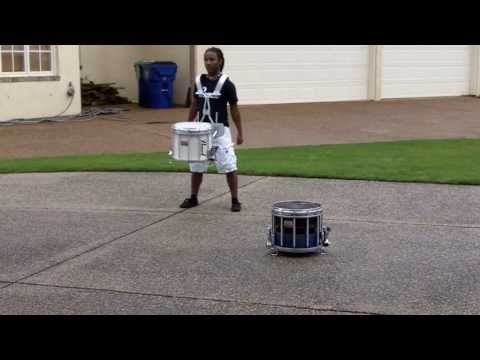 Jay's 2014 U.S. Army All-American Marching Band Audition- Snare/Marching
