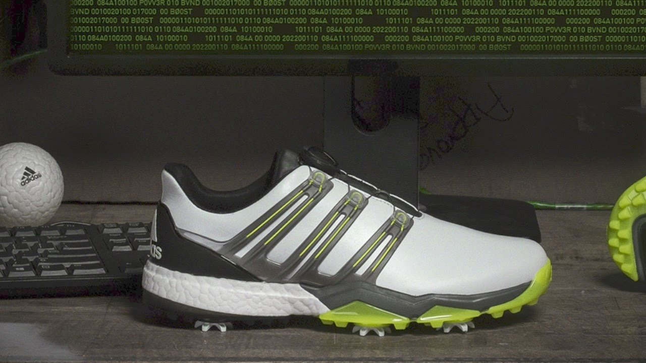 41ba3a9e1580ed Golf Spotlight 2017 - adidas Powerband BOOST - YouTube